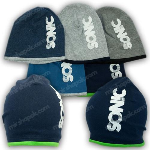 Трикотажные шапки для мальчика, р. 50-52