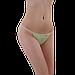 Трусики стринги одноразовые женские для процедур 50 шт (шоколадные), фото 2