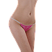Трусики стринги одноразовые женские для процедур 50 шт (шоколадные), фото 6