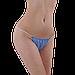 Трусики стринги одноразовые женские для процедур 50 шт (м'ятные), фото 4