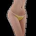 Трусики стринги одноразовые женские для процедур 50 шт (м'ятные), фото 6