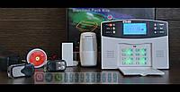 GSM сигнализация GSM 30A 433 Мгц . Комплект . Русский голос , смс на русском