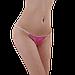 Трусики стринги одноразовые женские для процедур 50 шт (розовые), фото 7