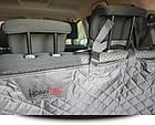 Автогамак для перевозки собак в багажнике автомобиля HobbyDog A005 серый, фото 2