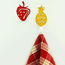 Мебельный крючок декоративный Strawberry, фото 2