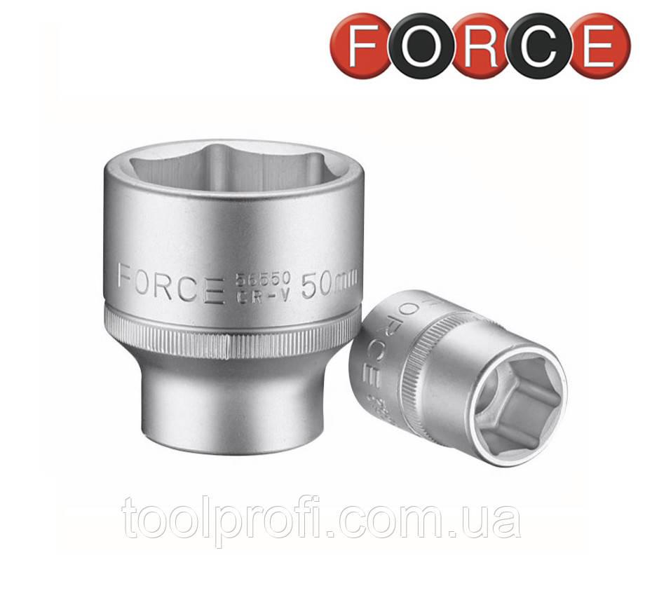 "Головка шестигранная 3/4"", 21 мм (Force 56521)"