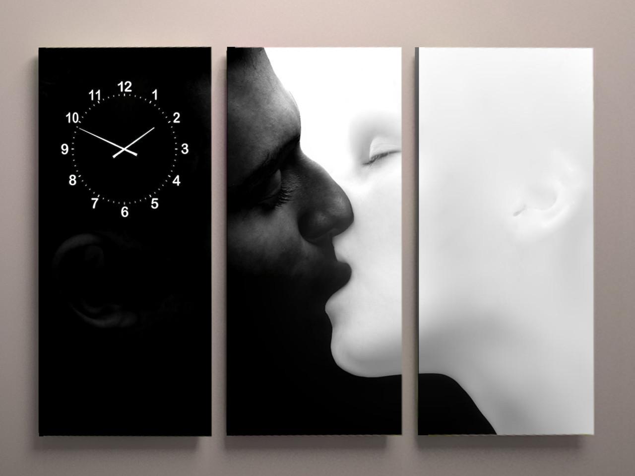 Фото картина в кімнату Поцілунок 90х60