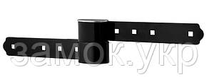 Навесной замок TOKOZ UZ_220+_з_навесами 2KEY TK4_M R_shackle 33 мм 9 мм BOX (Чехия)