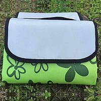 Раскладной коврик для пикника 145х80 см (зеленый)