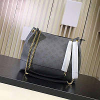 9fc14a49c7c0 Сумка Louis Vuitton lv Луи виттон 30/25 см натуральная кожа Серая Качество  люкс.