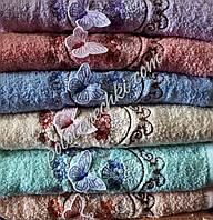 """Махровое лицевое полотенце """"Бабочка"""", фото 1"""