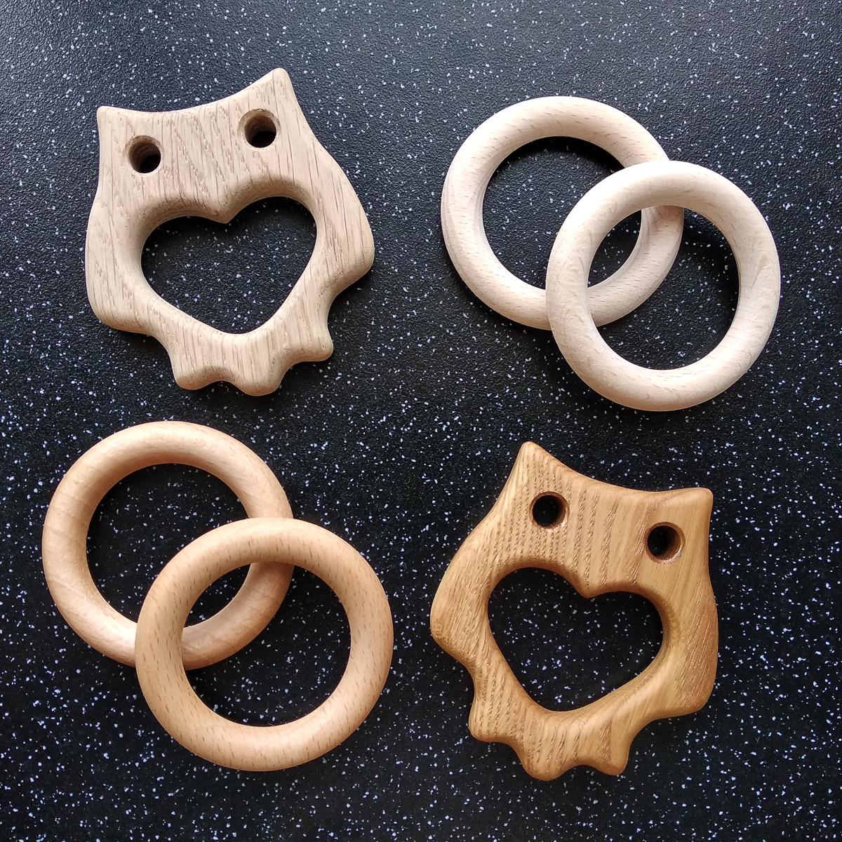 О вощении и промасливании деревянных грызунков и колец.
