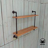 №4 Полка loft мебель лофт изделия из труб