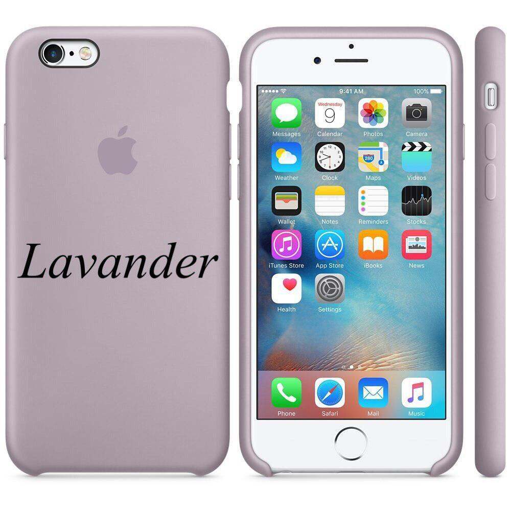 "Apple silicon case iPhone 6,6s  "" Lavander """