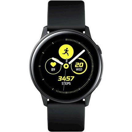 Смарт-часы Samsung Galaxy Watch Active Black (SM-R500NZKASEK) UA, фото 2
