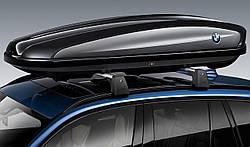 Оригинальный верхний багажный бокс BMW, 420 литров, артикул 82732406460