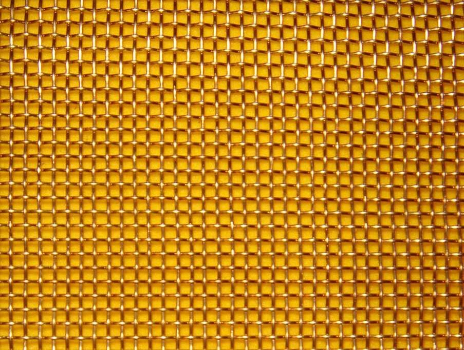 Ткана сітка латунна осередок 1,0-0,4 мм БрОФ6,5-0,4/Л-80 ГОСТ 6613-86
