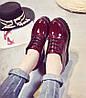 Шикарні туфлі лаковані черевики на високій підошві Ботильйони, фото 5
