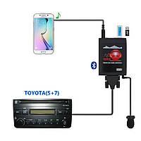 Moonet Bluetooth USB/AUX  адаптер блютуз комплект громкой связи Toyota 5+7  Эмулятор CD чейнджера, фото 1