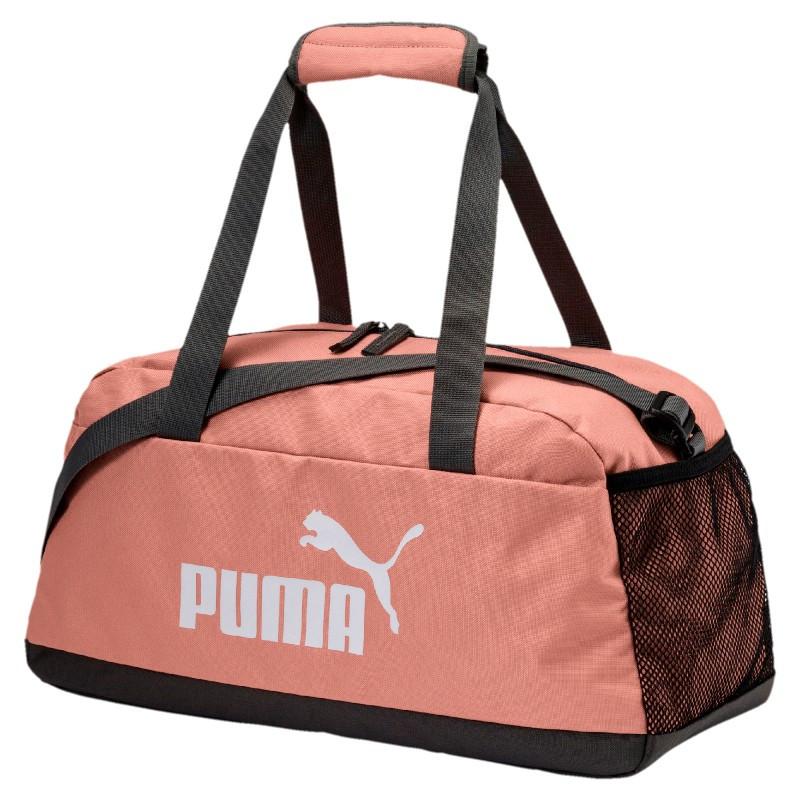 32ca2aac022e Сумка спортивная Puma Phase Sport Bag 074942 28 (розовая, среднего размера,  боковой карман