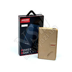 Дорожная зарядка Power Bank AKEKIO NB3 18200mAh золотистый