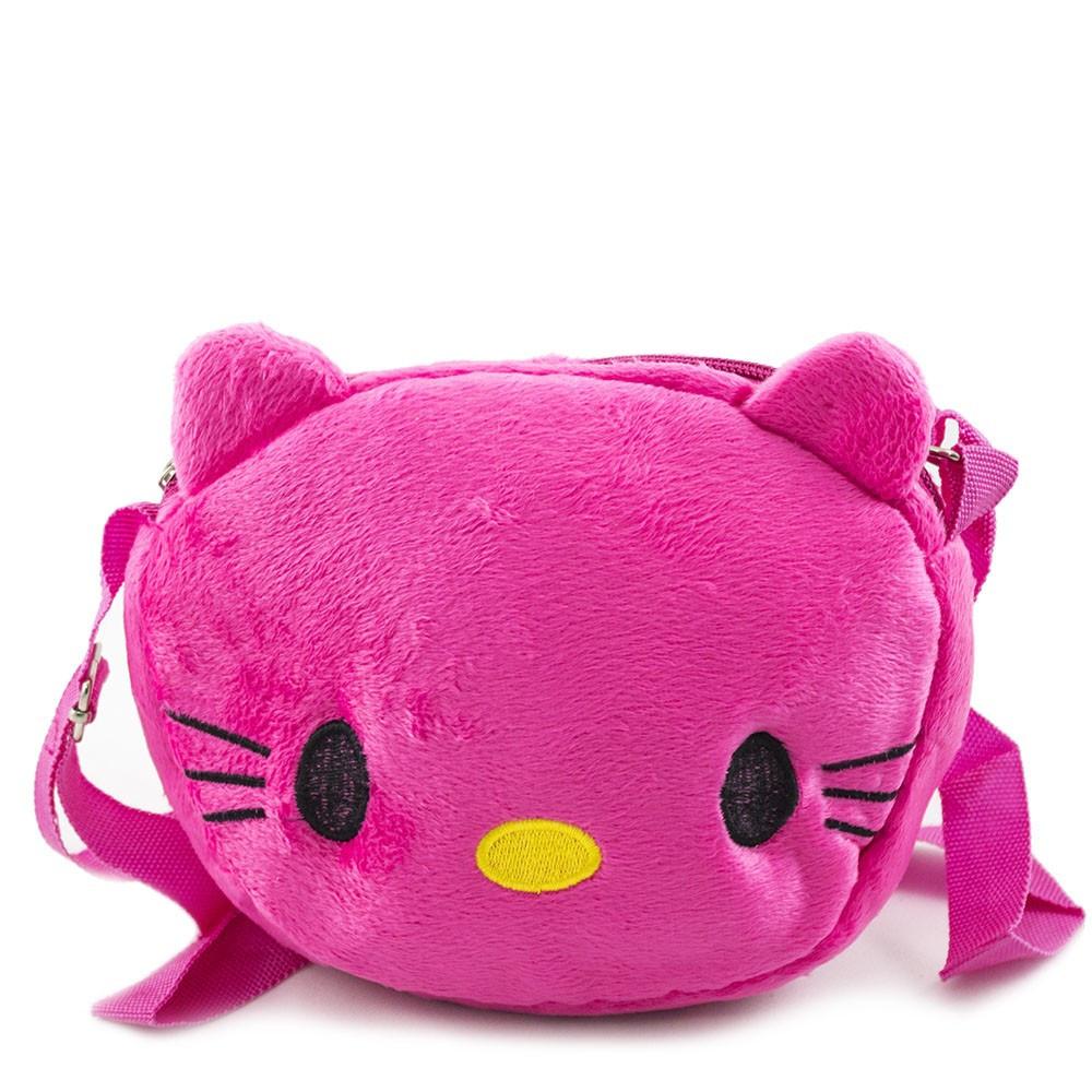 58895f8b74ce Детская Розовая Бархатная Сумочка Hello Kitty — в Категории