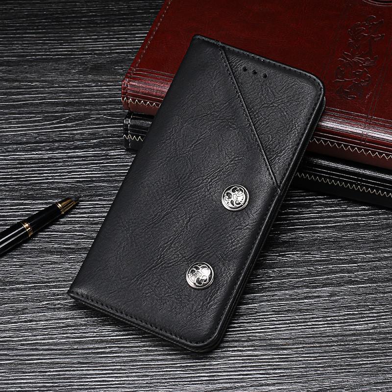 Чехол Premium для Honor 10 Lite / HRY-LX1 книжка кожа PU черный
