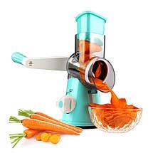 Овощерезка терка механическая ручная мультислайсер для овощей и фруктов Kitchen Master (5140), фото 2