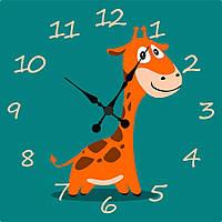 """Часы настенные """"Жираф"""" 300х300 мм"""