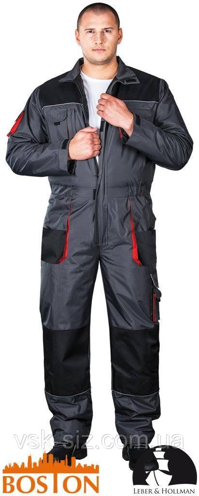 Защитный утепленный рабочий комбинезон BOSTON LH-BSW-O , фото 1