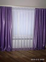 """Новинка Готовый комплект """"Италия"""":тюль с  шторыами из  блек аута. для гостиной,спальни высота 2.7 м, фото 1"""