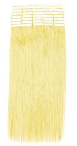 Волосы на лентах 60 см. Цвет #60 Холодный блонд