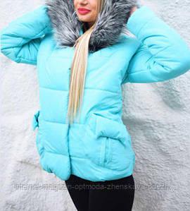 Женская зимняя куртка на синтепоне