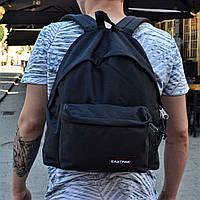 Рюкзак EASTPAK черный Топ Реплика Хорошего качества