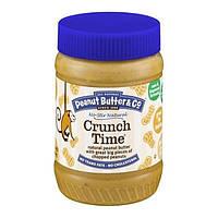 Peanut Butter & Co.Crunch Time, Арахисовая паста с кусочками орехов, 454 г, США