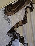 "Кухонная занавеска ""Эмилия"" на карниз 1.5 м - 2 м Разных цветов., фото 3"