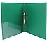 Папка пластиковая А4 Economix 2 кольца, зеленая, фото 2