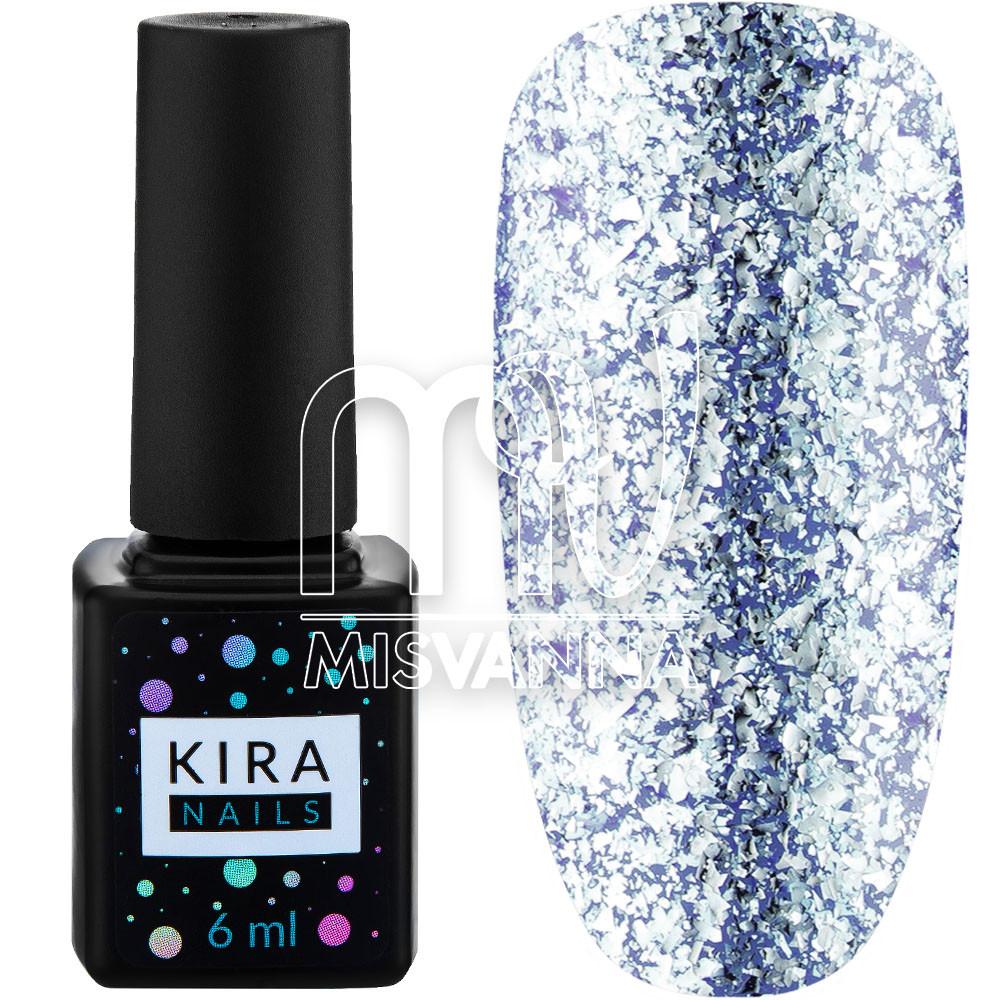 Гель лак Kira Nails Shine Bright №010 6 мл, голубой