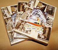 Открытки, винтаж, 20 век, комплект 32 штуки