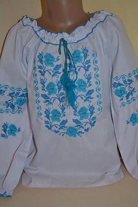 Недорога вишиванка для дівчинки, фото 2