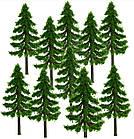 Елка 7 см, дерево для диорам, миниатюр, детского творчества, фото 4