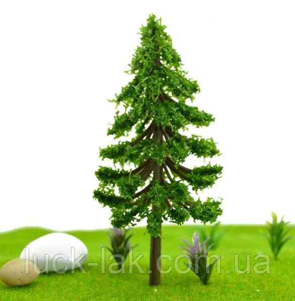 Елка 7 см, дерево для диорам, миниатюр, детского творчества