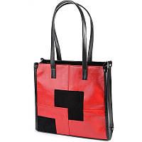 Красная квадратная сумка М102-33/21 с длинными ручками на плечо, фото 1