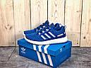 Кроссовки мужские синие Adidas incognito 40-44, фото 3