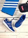 Кроссовки мужские синие Adidas incognito 40-44, фото 2