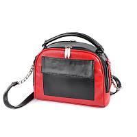 Красная маленькая сумка М200-21/33 кросс-боди через плечо, фото 1