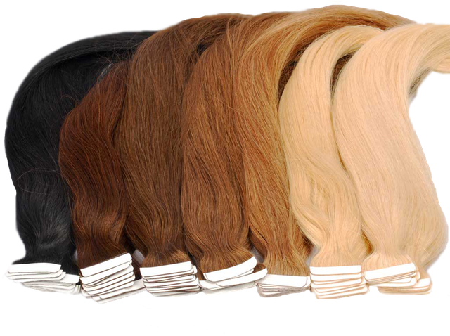 Волосы на лентах 70 см
