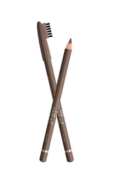 Карандаш для бровей Malva со щёточкой №9