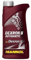 Трансмиссионное масло MANNOL ATF Dexron II Automatic 1л
