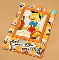 Открытки, винтаж,герои мультфильмов, 20 век, комплект 32 штуки